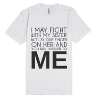 To Me-Unisex White T-Shirt