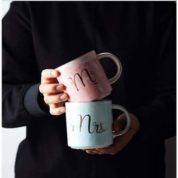 Mr and Mrs Ceramic Mug