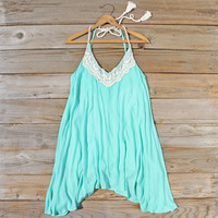 The Sable Dress in Turquoise