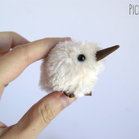 Mini Kiwi plush miniature doll