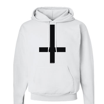 Inverted Cross Hoodie Sweatshirt