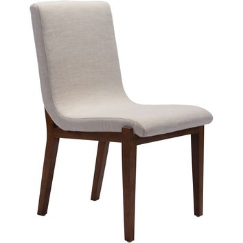 Hamilton Dining Chairs, Beige (Set of 2)