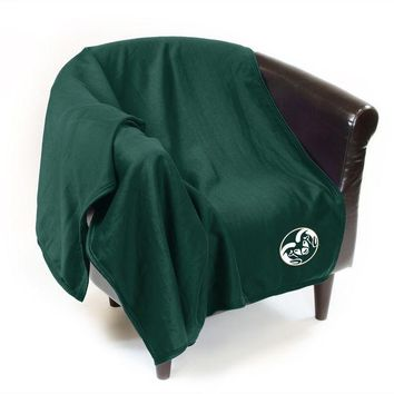 DCCKG8Q NCAA Colorado State Rams Sweatshirt Throw