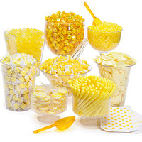 Yellow Candy Buffet Kit: 25 to 50 Guests