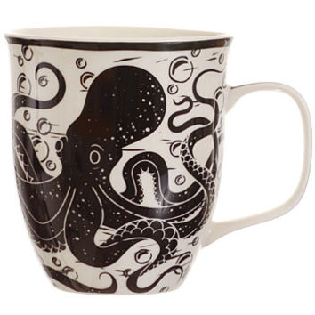 Seize the Day Octopus Mug - PLASTICLAND