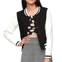 LA Hearts Quilted Varsity Jacket at PacSun.com