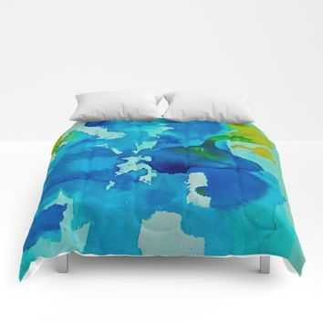 Topography Comforters by DuckyB