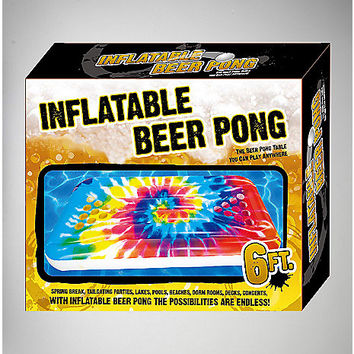 6' Tie Dye Beer Pong Float - Spencer's