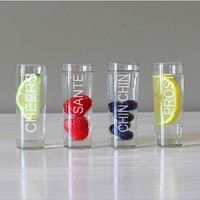 'Cheers' Shooters (Set of 4)