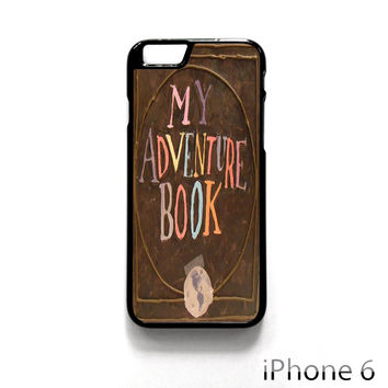 My Adventure Book Up Movie Carl And Ellie for Iphone 4/4S Iphone 5/5S/5C Iphone 6/6S/6S Plus/6 Plus Phone case