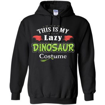Funny This Is My Lazy Dinosaur Halloween Costume T Shirt cool shirt