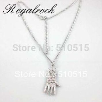 Regalrock Everlasting Classic Michael Jackson MJ Dance Gloves Necklace