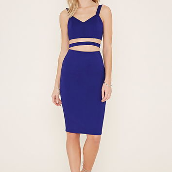 Strappy Cutout Bodycon Dress | Forever 21 - 2000153972