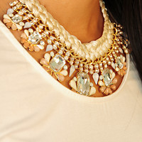 Sweet Addiction Necklace: Ivory