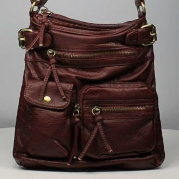 B & D Simple Stylish Cross Body Handbag That Will Never Go Out Of Style.