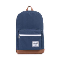 HERSCHEL SUPPLY CO POP QUIZ BACKPACK IN NAVY/TAN