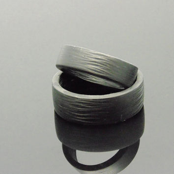 Carbon fiber Wedding Bands  Side cut aerospace quality carbon fiber with eco-friendly resin