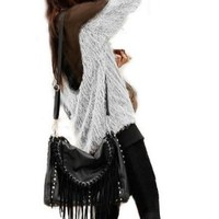 Women's Backless Long Sleeve Shirt Blouse Soft Fur Transparant Tops