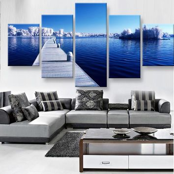 Cold Waters Canvas Set
