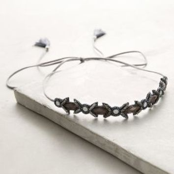 Deepa by Deepa Gurnani Elisabet Headband in Silver Size: One Size Hair