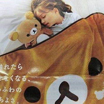 Mister Donut San-x Rilakkuma Blanket One From Japan