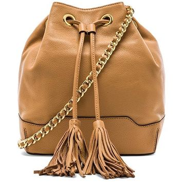 Rebecca Minkoff Lexi Bucket Tote in Brown