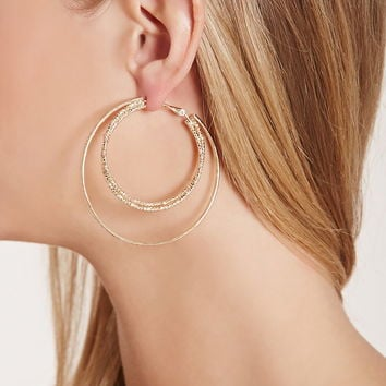 Layered Hoop Earrings