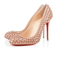 FIFI SPIKES VERNIS, Cuir vernis, Nude/Nude, Souliers pour femme