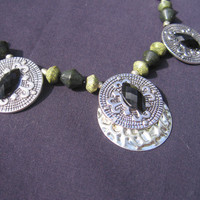 Necklace Athena's Jewels FREE SHIPPING by DarklyngStudios on Etsy