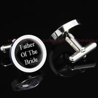 Father of the Bride Mens Cufflinks, Wedding Gift for Fathers gift for Men Accessories for Men,mens gift birthday gift