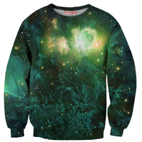 Green Smoke Galaxy Sweatshirt