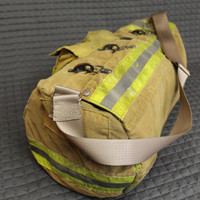 Duffle bag made of upcycled bunker gear - MADE TO ORDER