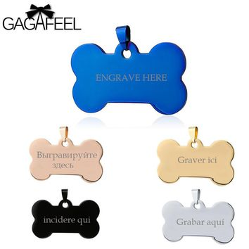 Unisex- Stainless Steel-Dog Tag- Laser Engraving-Available- Friendship Necklaces Love. 10 Color-Design Styles.