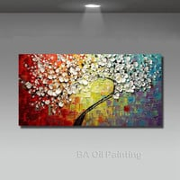 Wall Art Abstract Paintings Modern Oil Painting On Canvas  No Framed
