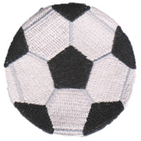 Soccer Emoji Patch