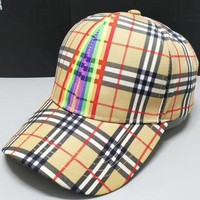 Perfect Burberry  Unisex Fashion Casual Cap