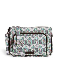 Vera Bradley Iconic RFID Little Hipster Paisley Stripes