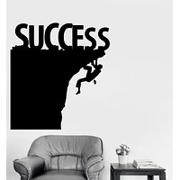 Vinyl Wall Decal Success Motivation Office Decor Stickers Mural Unique Gift (ig3900)