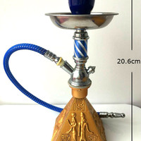 Egyptian Modern Hookah Portable Pipe Shisha  Clip, Hookah Bottle