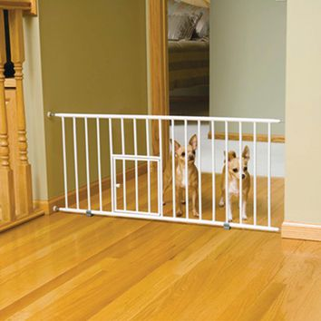Carlson Pet Products Mini Pet Gate W/Door