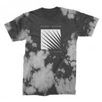 Jagged Tee (Cloud Dye Black)