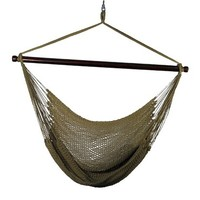 Outdoor Hanging Caribbean Rope Chair