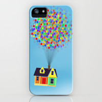 A house in the sky. iPhone Case by biskh | Society6