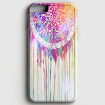 Bmth Sempiternal In Rainbow Watercolor Drop iPhone 8 Case