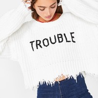 Trouble Storm Sweater