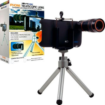 Telescopic 8X Lens & Tripod Kit for iPhone