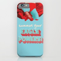 summon your eagle powers iPhone & iPod Case by Studiomarshallarts
