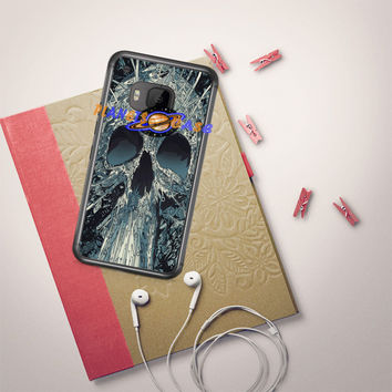 Abstract Skulls Artwork HTC One M9 Case Planetscase.com