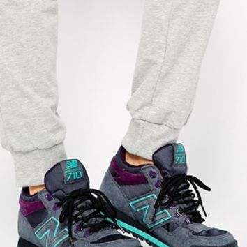 New Balance 710 Suede/Mesh Sneaker Trainers at asos.com