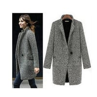 women winter wool coat